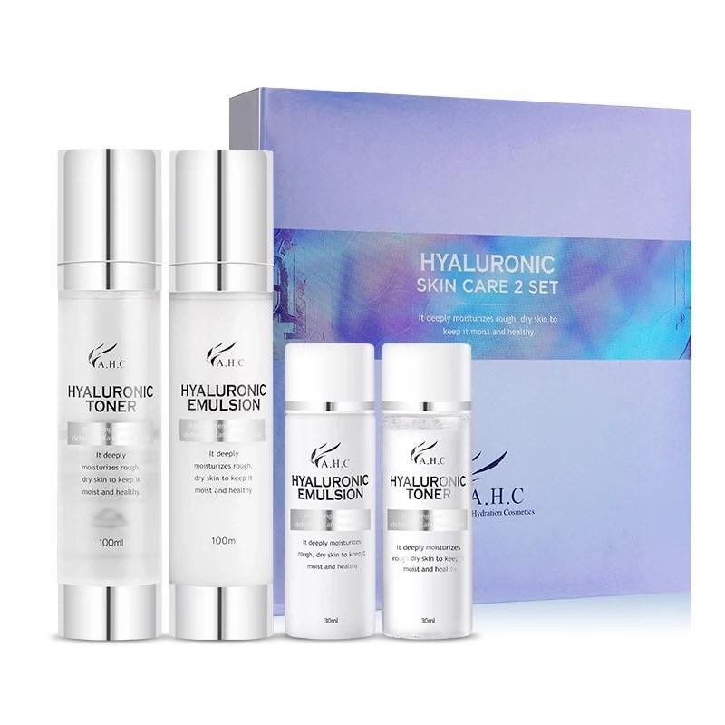 Набор средств с гиалуроновой кислотой AHC Hyaluronic Skin Care Set (Toner + Emulsion) - фото 10111