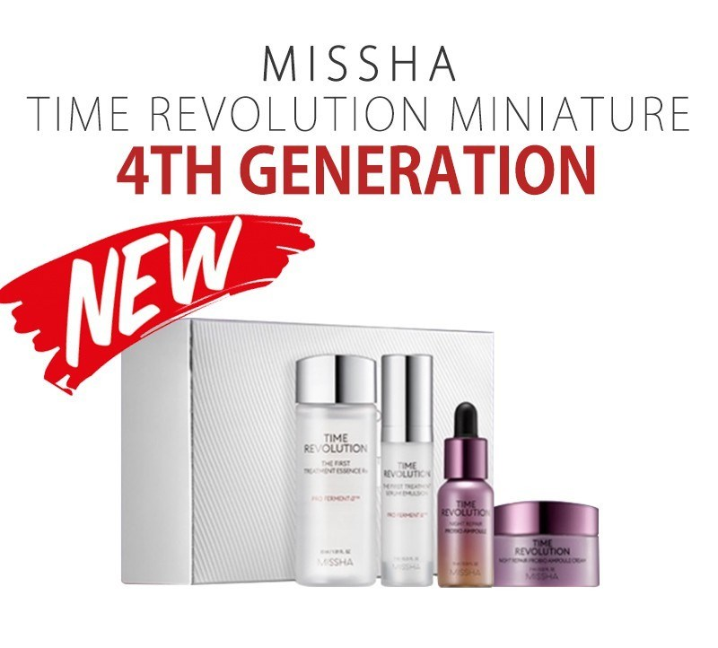 Набор миниатюр MISSHA Time Revolution Special Miniature Kit 4items - фото 11527