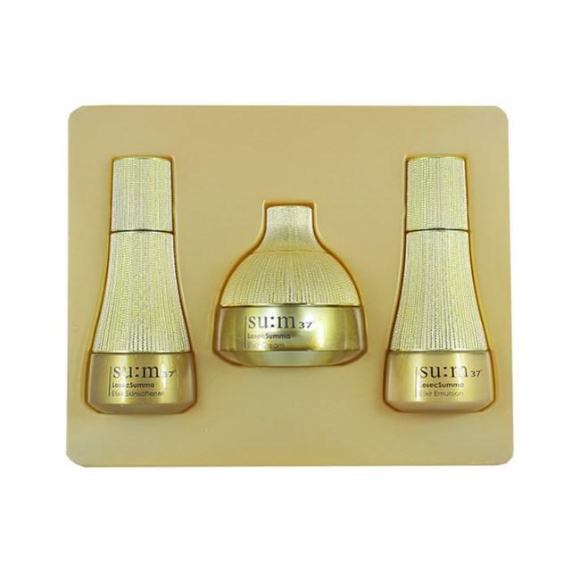 Набор антивозрастных питательных миниатюр Su:m 37 Losecsumma Elixir Gift Set (3 Items) - фото 12231