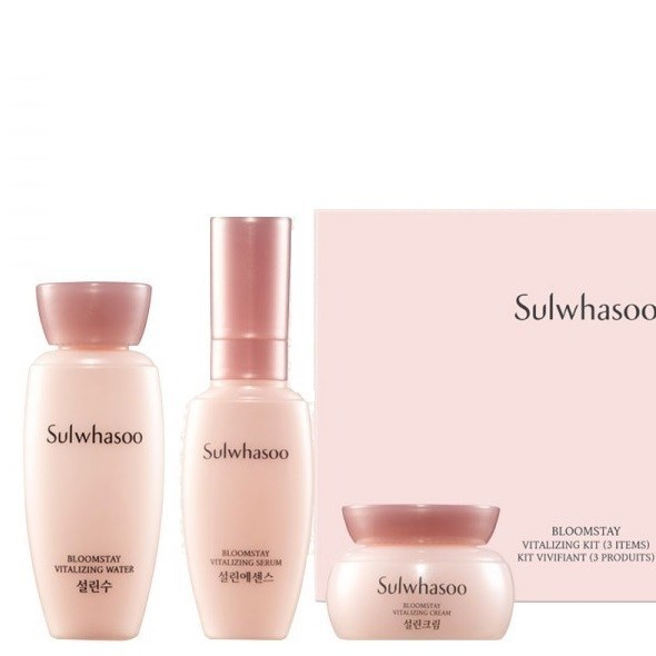 Набор антивозрастных средств с антиоксидантами Sulwhasoo Bloomstay Vitalizing Kit 3 items - фото 12232