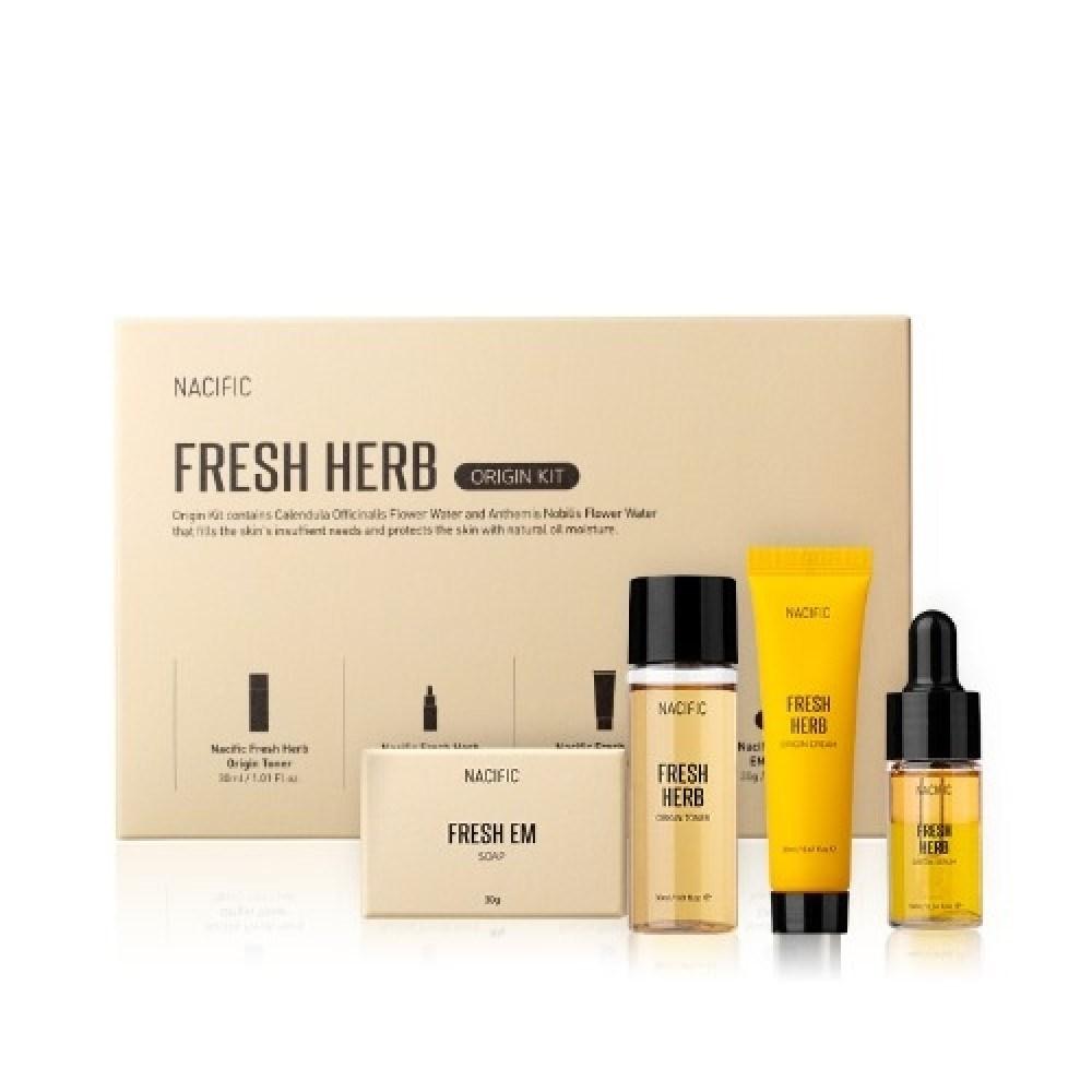Набор для лица с экстрактом календулы Nacific Fresh Herb Origin Kit - фото 12456