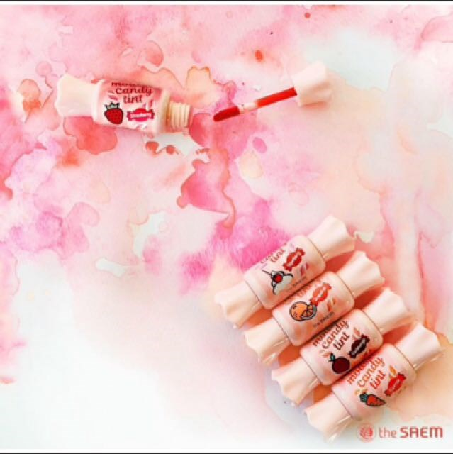 Тинт-мусс для губ Конфетка The Saem Saemmul Mousse Candy Tint - фото 6183