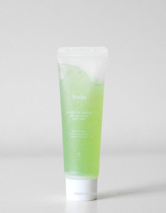 Успокаивающая маска для экспресс-восстановления уставшей кожи Huxley Keep Calm Healing Mask 30g - фото 9593
