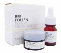 Набор мини-версий на основе пчелиной пыльцы для ухода за кожей лица MISSHA Bee Pollen Renew Miniature Kit