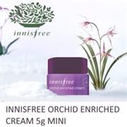 Крем для лица антивозрастной с экстрактом орхидеи Innisfree Jeju Orchid Enriched Cream 5мл