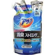 Высокоэффективный гель для стирки белья и устранения стойких запахов Kao Attack с ароматом свежих трав 810 г