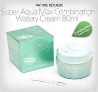 Увлажняющий крем-гель для комбинированной кожи Nature Republic Super Aqua Max Combination Watery Cream 80мл