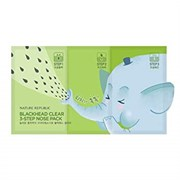 Трехступенчатый набор для очищения пор носа Nature Republic Blackhead 3 step Clear Nose Pack