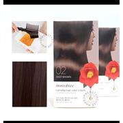Краска для волос Innisfree Camellia Hair Color Cream #02 Deep Brown