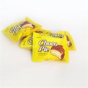 """Пирожное в шоколадной глазури Lotte """"Choco Pie"""" Банан, 1шт."""