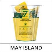 Скраб для глубокого очищения пор с экстрактом алоэ, центеллой May Island 7 Days Secret Pore Clear Powder Scrub 5г (упаковка 12 шт)