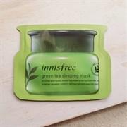 Ночная маска с зеленым чаем INNISFREE Green Tea Sleeping Mask 4ml пробник