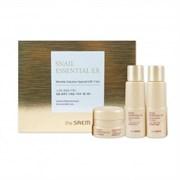 Набор мини-версий антивозрастной THE SAEM Snail Essential EX Wrinkle Solution Special Gift 3 Set 31мл*2/10мл