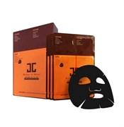Черная 3-х этапная маска для сияния кожи JayJun Real Water Brightening Black Mask