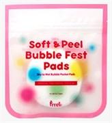 Очищающие салфетки PRRETI Soft & Peel Bubble Fest Pads 10pcs