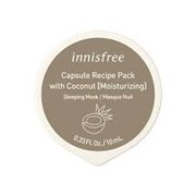 Увлажняющая капсульная ночная маска с кокосом Innisfree Capsule Recipe Pack # Coconut - Sleeping Pack