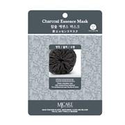 Маска тканевая древесный уголь MJ Care Charcoal Essence Mask