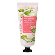 Крем для рук с Водной лилией Farmstay pink flower blooming hand cream water lily 100мл