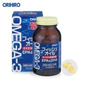 Биологически Активная пищевая добавка Омега-3 (DHA+EPA) ORIHIRO 180 капсул на 45 дней