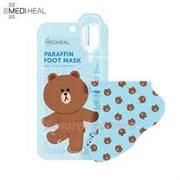 Смягчающая парафиновая маска для ног Mediheal Paraffin Foot Mask