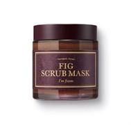 Очищающая скраб-маска на основе инжира I'm From Fig scrub Mask 120 гр