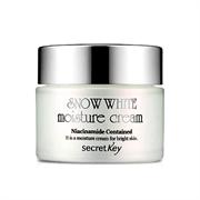 Увлажняющий крем с активным отбеливающим действием SECRET KEY Snow White Moisture Cream 50g