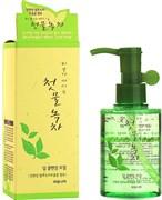 Масло очищающее Welcos Green Tea Deep Cleansing Oil
