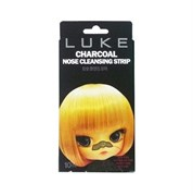 Очищающие от черных точек угольные полоски Luke Charcoal Nose Cleansing Strip 1 шт