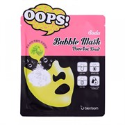 Маска-пилинг для очищения пор Berrisom Oops Soda Bubble Mask PoreTox Fruit