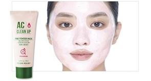 Маска для проблемной кожи с розовой глиной Etude House AC Clean Up Pink Powder Mask 100ml