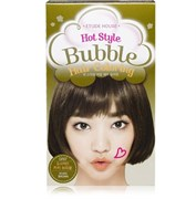 Краска для волос Etude House Hot Style Bubble Hair Coloring #GR07 Khaki Brown
