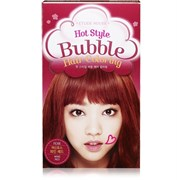 Краска для волос Etude House Hot Style Bubble Hair Coloring #RD06 Wine Red