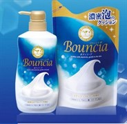 """Сливочное жидкое мыло COW """"Bouncia"""" для тела с нежным свежим ароматом МУ 430мл"""