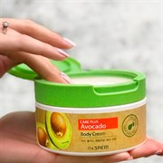 Крем для тела с экстрактом авокадо The Saem Care Plus Avocado Body Cream 300ml