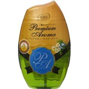 Жидкий дезод. ароматизатор для помещений ST Shoushuuriki Premium Aroma аромат ромашки и розмарина 400мл