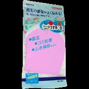 Резиновые перчатки ST (средней толщины, с внутренним покрытием) M (розовые) 1пара