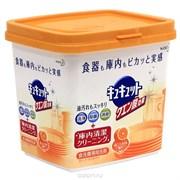 Порошок для посудомоечной машины KAO Cucute Citric Acid Effect Orange с лимонной кислотой и ароматом апельсина смен.упак 550гр