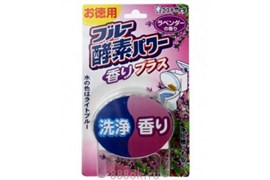 Очищающая и ароматизирующая таблетка для бачка унитазa ST Blue Enzyme Power с ароматом лаванды 120г