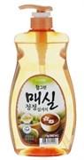 """Средство для мытья посуды, овощей и фруктов Cj Lion """"Chamgreen - Японский абрикос"""" 1000мл"""