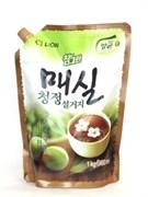 """Средство для мытья посуды, овощей и фруктов Cj Lion """"Chamgreen - Японский абрикос""""  960 мл (мягкая упаковка)"""
