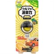 Гелевый ароматизатор для кондиционера автомобиля ST Shoshu RIKI аромат цитрусовых 3,2мл
