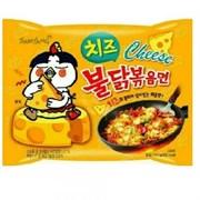 "Лапша Самянг ""Hot Chicken Flavor Ramen-Сheese"", 140гр (мягк.уп)"