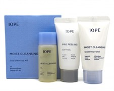 Очищающий набор IOPE Moist Cleansing Dust Clean-up Kit