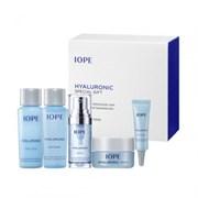Набор для интенсивного увлажнения с гиалуроновой кислотой IOPE Hyaluronic Special Gift Set (5 items)