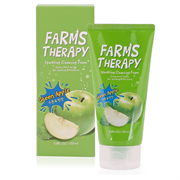 Пенка для умывания зеленое яблоко DAENG GI MEO RI FARMS THERAPY Sparkling Cleansing Foam[Green Apple] 150ml