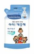 Мыло-пенка для рук CJ Lion Ai - Kekute с антибактериальным эффектом, аромат мяты, зап.блок 200 мл