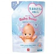 """Детская пенка """"2 в1"""" для мытья волос и тела с 1х дней жизни (Без слез) Cow Kewpie МУ 350мл"""