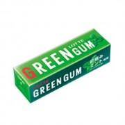 Жевательная резинка Свежая зеленая мята Lotte Green Gum 9 пластинок
