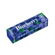 Жевательная резинка Голубика Lotte Fruitio Blueberry 9 пластинок