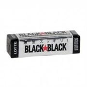 Жевательная резинка Охлаждающая мята Lotte Black Black 9 пластинок